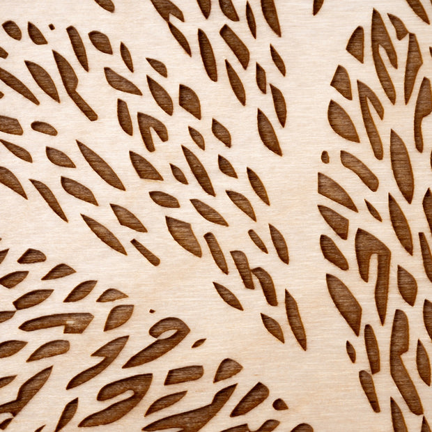 Wood Art 3 Tree of Life Art - Etched Atlas