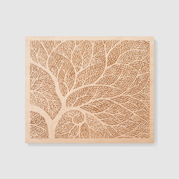 Wood Art 7-10x12-Unframed-No-Etched Atlas