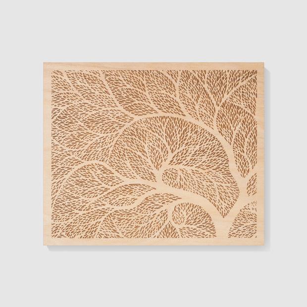 Wood Art 8-10x12-Unframed-No-Etched Atlas