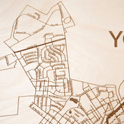 York Custom Map Gift - Etched Atlas