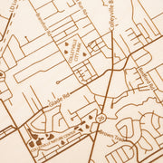 Colleyville Map - - Etched Atlas