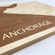Anchorage Map - - Etched Atlas