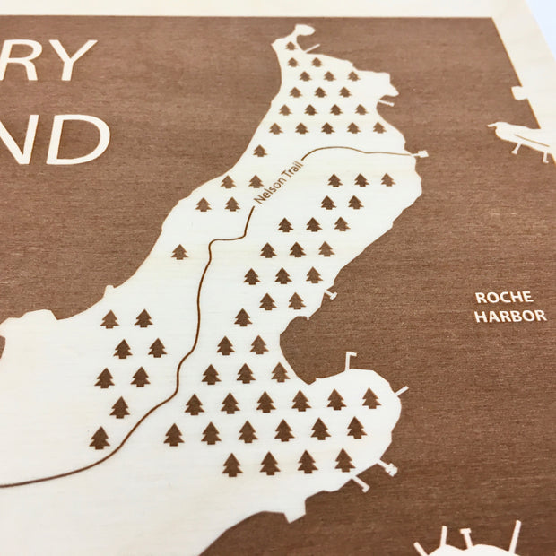 Henry Island-Etched Atlas