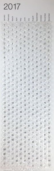 2017 Bubble Wrap® Calendar