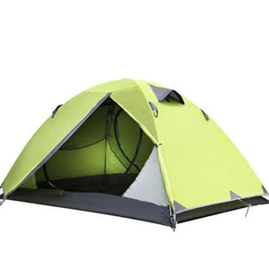 New Two Person Tent Double Wall Extent Outdoor Hiking Backpacking Camping Tent Free Shipping