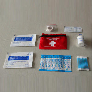Emergency Camping Sports Travel First Aid Kit Bag Treatment Pack Survival