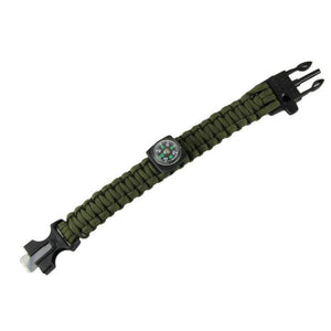 Outdoor Camping Bracelets For Men Women Parachute Rope Clasp Survival Bracelet Homme Handmade Braided 2 Colors