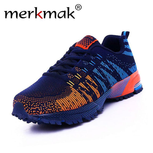 Merkmak Men's Shoes Breathable Casual High Quality Fashion Men Leisure Chinese Branded Designer Men Shoes Flat Zapatillas Hombre