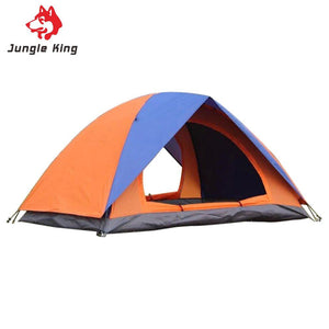 Two Persons Couple Camping Tent For Outdoor Travel Hiking Fishing Picnic Waterproof Shelter Glass Fiber Fiberglass Rod