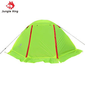 Ultra-light Nylon Breathable Two Persons Couple Camping hiking fishing Tent Aluminum Rod With Snow Skirt Waterproof Beach Tent