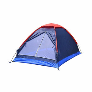 Folding Waterproof Single Layer Two People Tent Outdoor Ultra Light Rainproof Windproof Picnic sleep Camping Beach Tent Shelter