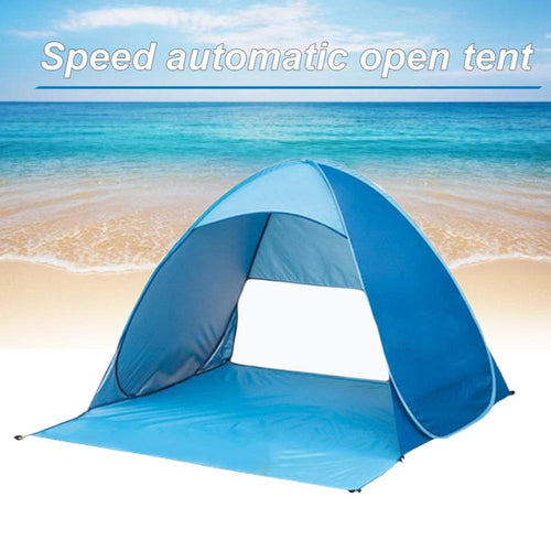 Fully Automatic Pop-up Instant Camping Tent Outdoor Ultralight Waterproof Sun Shelter Beach Fishing Picnic Tent Free Shipping