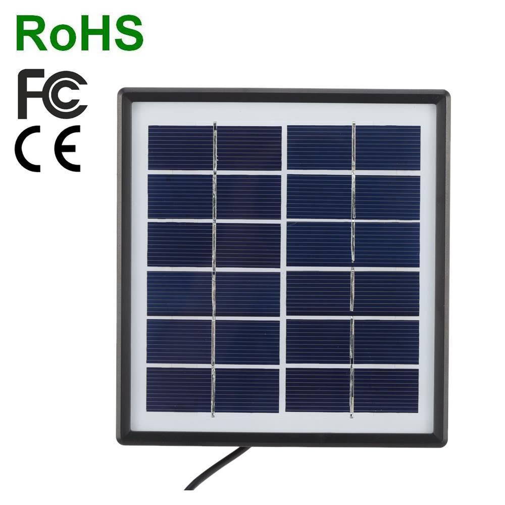 Tomshine 6V 0.3A 1.8W Water Resistant IP65 Solar Panel Charger High Efficiency Camping Riding Climbing Use