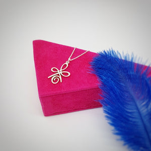 INNER STRENGTH Symbol Necklace, [product type], - Personalised Silver Jewellery Ireland by Magpie Gems