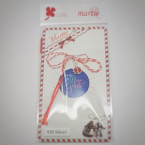 Martisor Mamaruta \ Ladybird in Sterling Silver