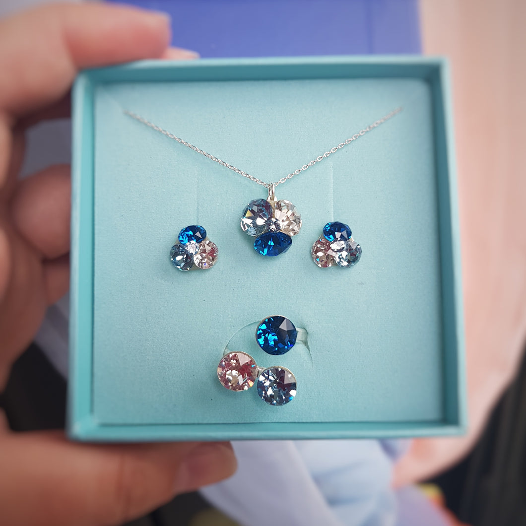 Blue Crystal Fusions Set