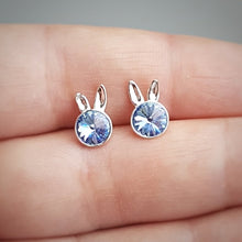 Load image into Gallery viewer, Little Miss Bunny Stud Earrings | Choose your colour