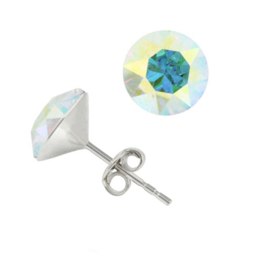 Aurora Borealis Stud Earrings