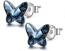 Load image into Gallery viewer, Little Miss Butterfly Stud Earrings | Choose your colour
