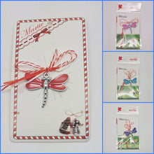 Load image into Gallery viewer, Dragonflies Lucky Spring Charm | Martisor | Martenitsa | мартеница | μάρτης
