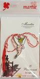 Tinker Bell Lucky Spring Charm | Martisor | Martenitsa | мартеница | μάρτης var.2, [product type], - Personalised Silver Jewellery Ireland by Magpie Gems