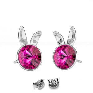 Little Miss Bunny Stud Earrings | Choose your colour