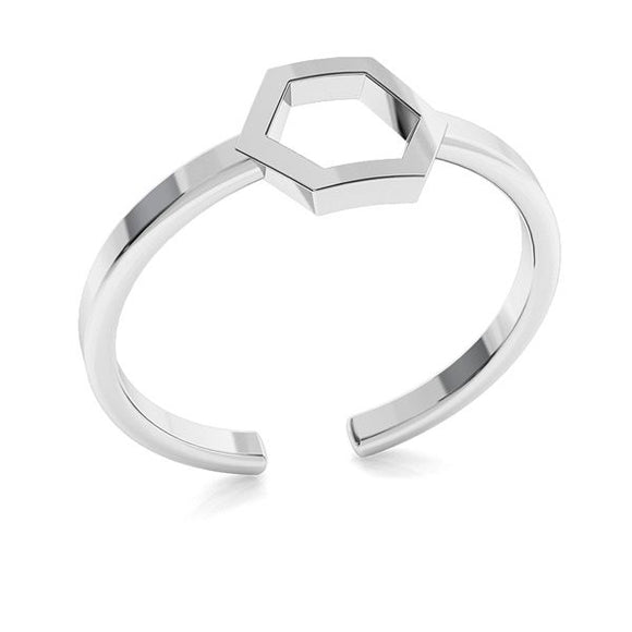 Hexagon Molecule Adjustable Ring
