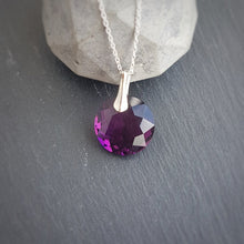 Load image into Gallery viewer, February Aquarius Amethyst BIRTHSTONE set, [product type], - Personalised Silver Jewellery Ireland by Magpie Gems