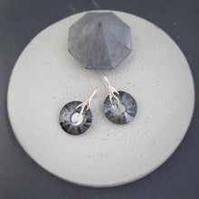 Load image into Gallery viewer, Sun Crystal Earrings | Choose your colour, [product type], - Personalised Silver Jewellery Ireland by Magpie Gems