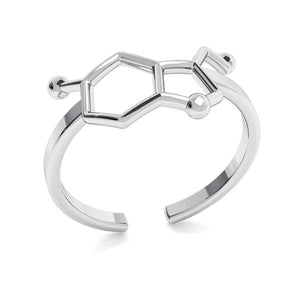 Be Happy Serotonin Adjustable Ring