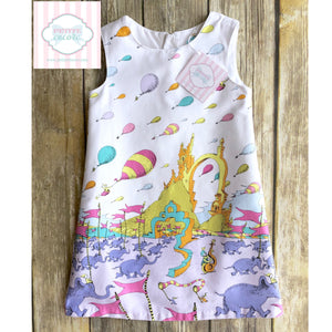 Dr. Seuss shift dress 3T