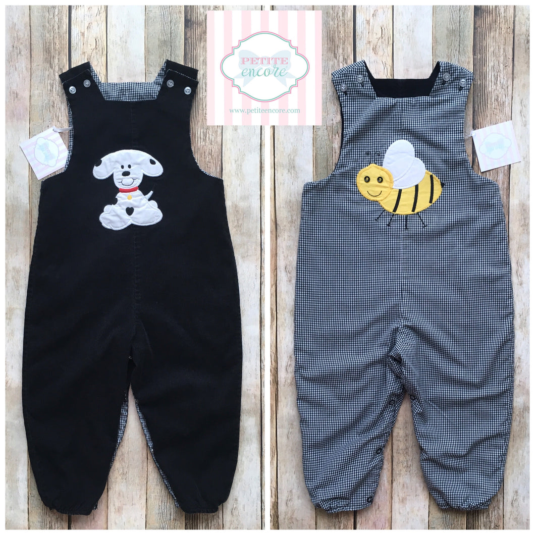 Reversible one piece by The Bailey Boys 2T