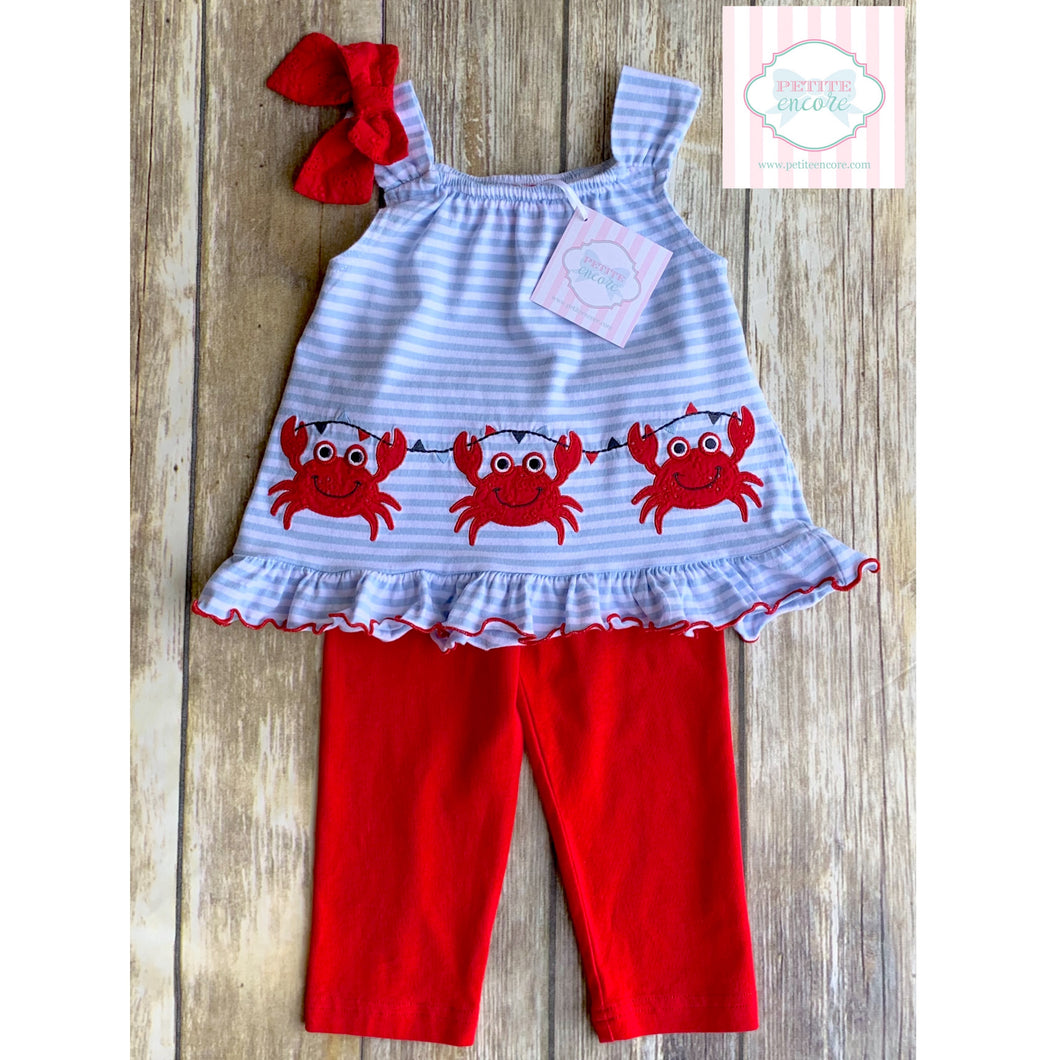 Crab themed two piece 18m