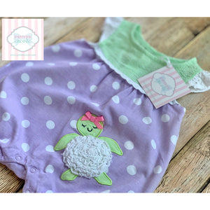 Turtle themed one piece 6m