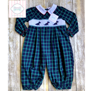 Smocked one piece by Carriage Boutiques 24m