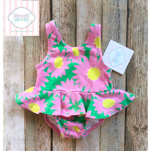 Baby Boden one piece swimsuit 3-6m