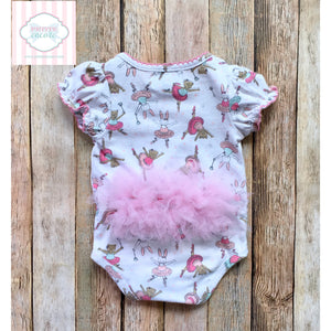 Mud Pie Baby tutu one piece 3-6m