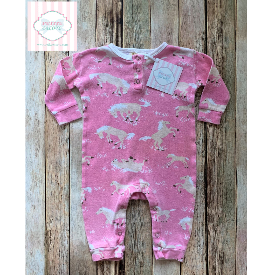 Horse themed one piece by Hatley 3-6m