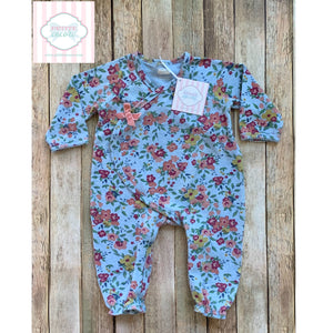 Floral one piece by Mud Pie Baby 6-9m