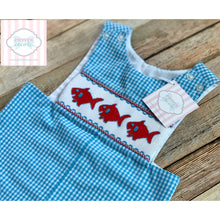 Smocked one piece by Three Sisters 9m