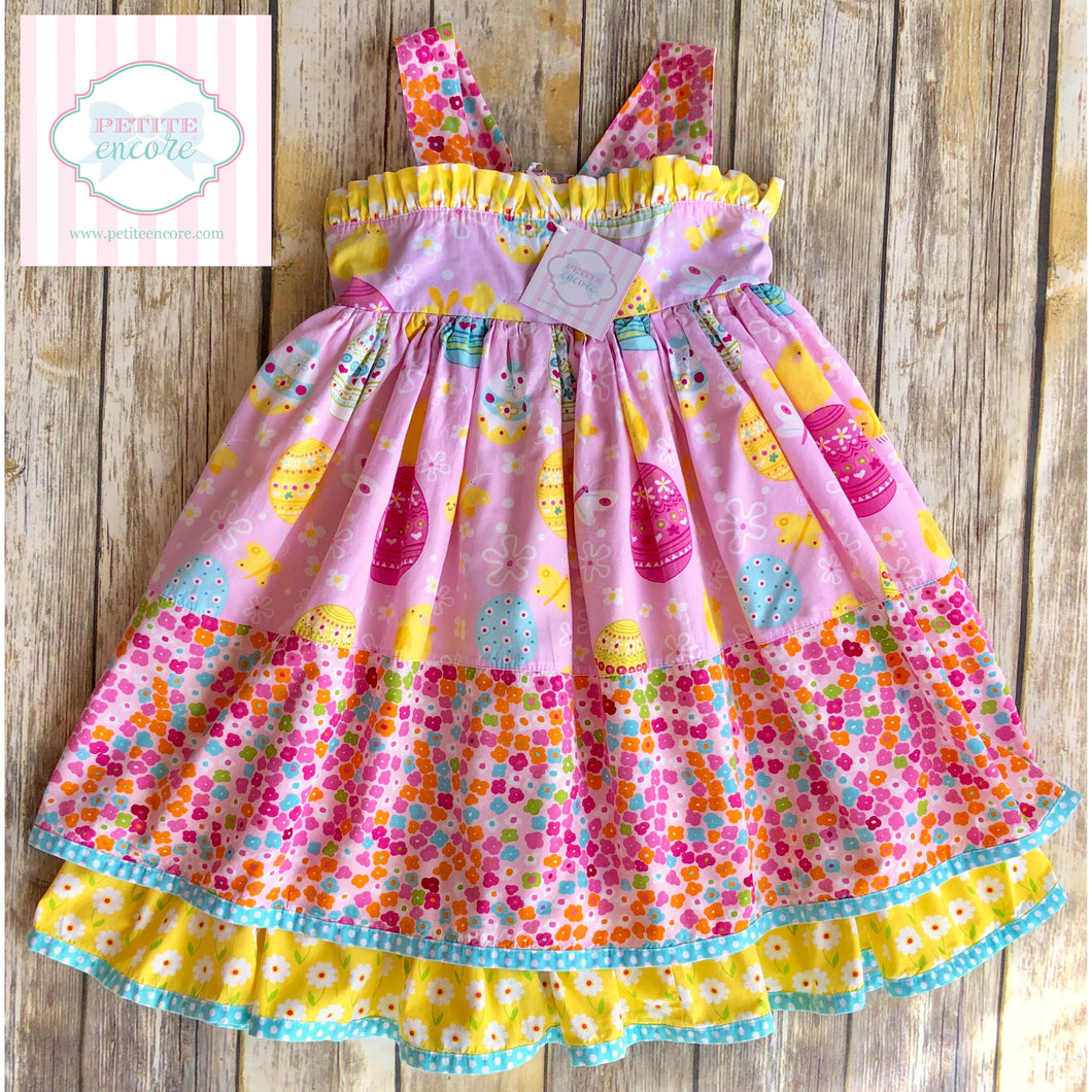 Jelly The Pug Easter ruffle dress 7