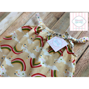 Rainbow dress by Pink Chicken 3Y