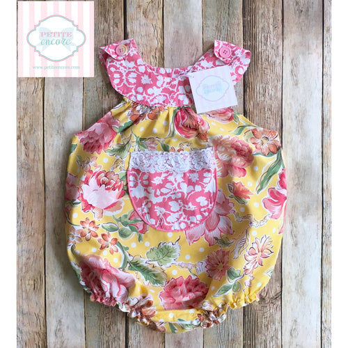Floral one piece 12m
