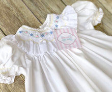 House of Hatten smocked dress 6m
