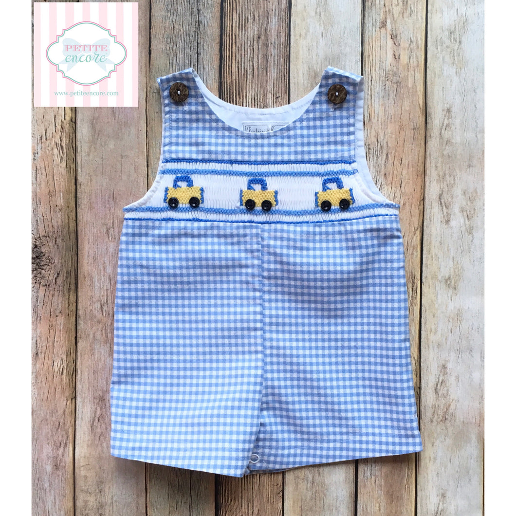 Smocked one piece by Fantasie Kids 3m