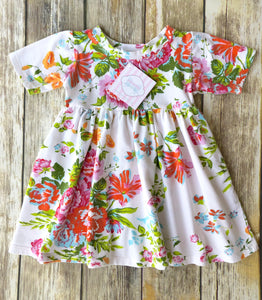 Mad Sky Los Angeles floral dress 2T