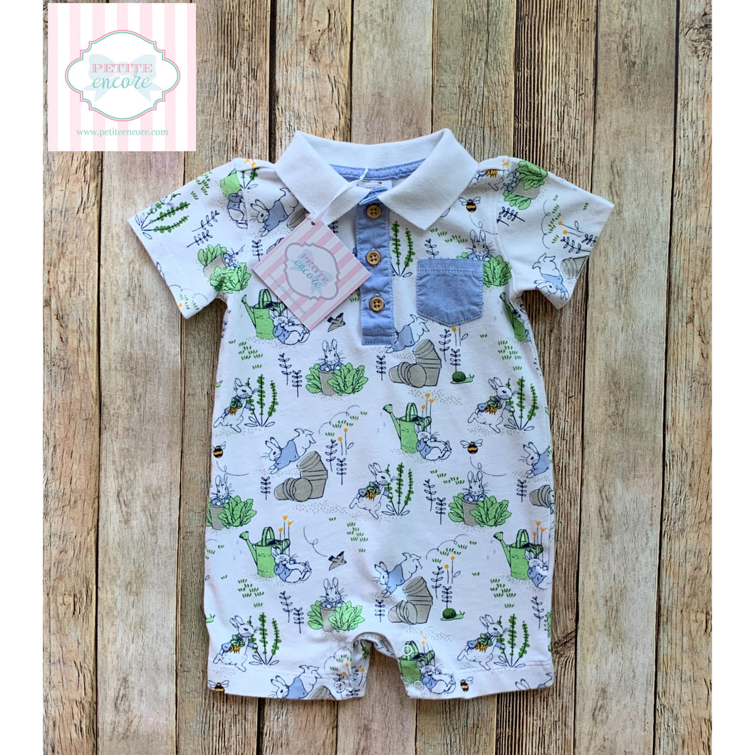 Peter Rabbit one piece 6-12m