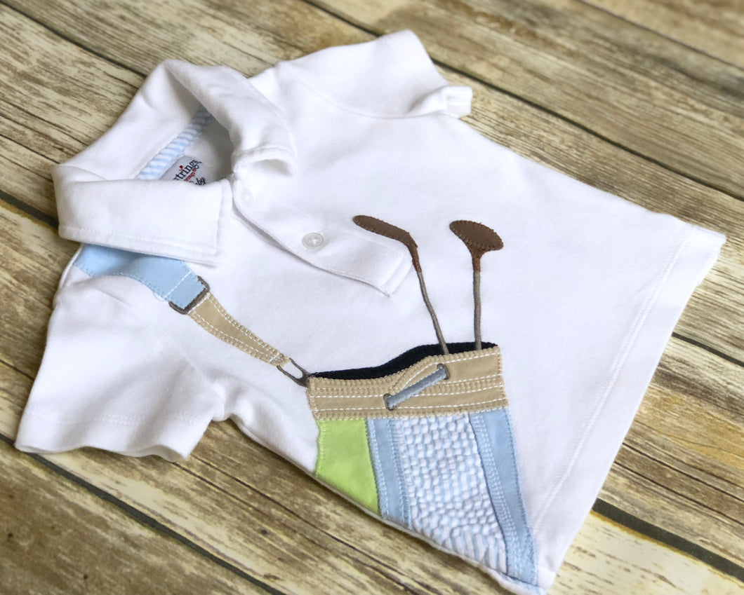 Kitestrings polo shirt 0-3m