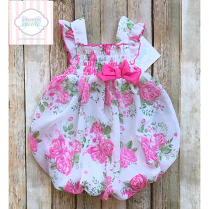 Floral one piece 18m