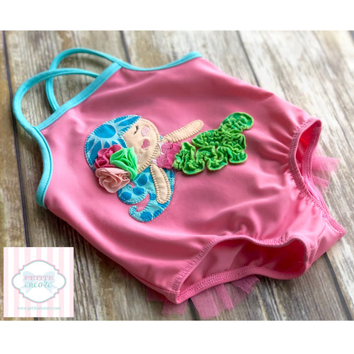 One piece swimsuit by Mud Pie Baby 6-9m
